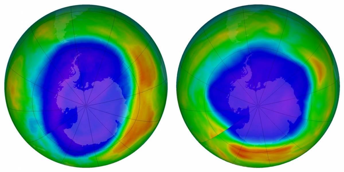 Capa de ozono se recupera de daño causado por aerosoles