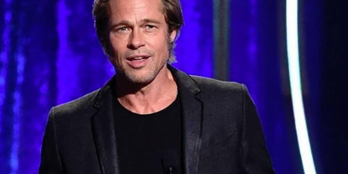 Brad Pitt aparece en público y enloquece a todos ¡Luce mejor que nunca!