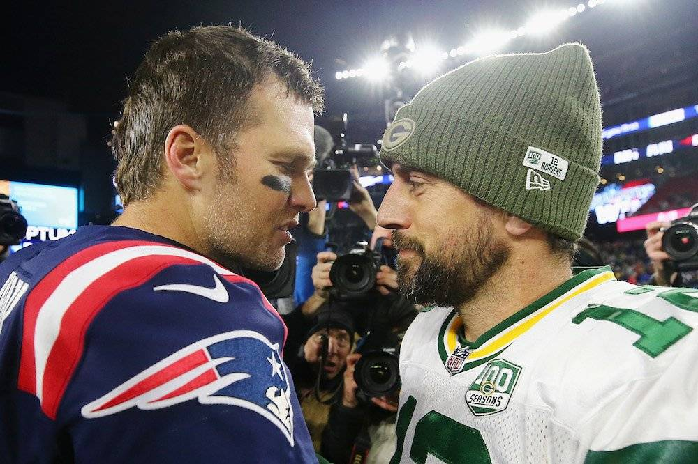 Packers 17-31 Patriots / Getty Images