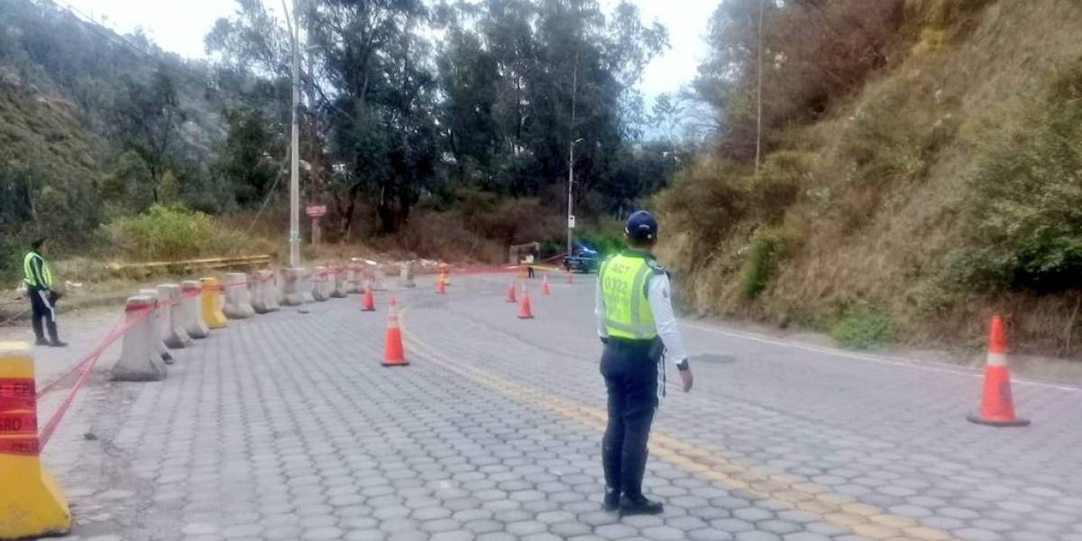 Quito: Este 5 de noviembre inician trabajos para estabilizar talud de la avenida De Los Conquistadores