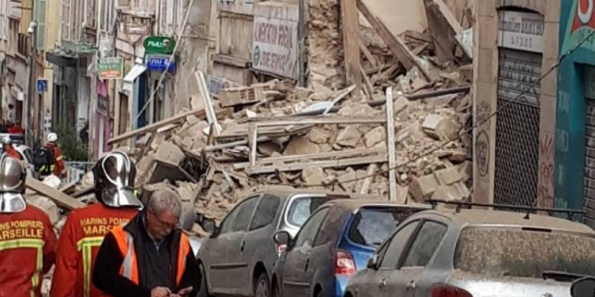Edificio de seis pisos se derrumba en Marsella: se desconoce si hay víctimas fatales