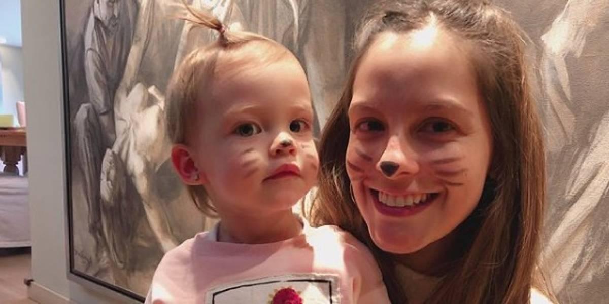 Helena, la hija de Laura Acuña, generó polémica luego celebrar su segundo cumpleaños