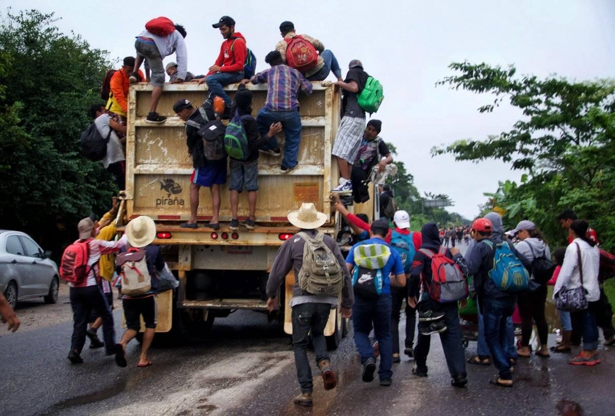 Han pedido refugio a México más de 3 mil centroamericanos: Segob