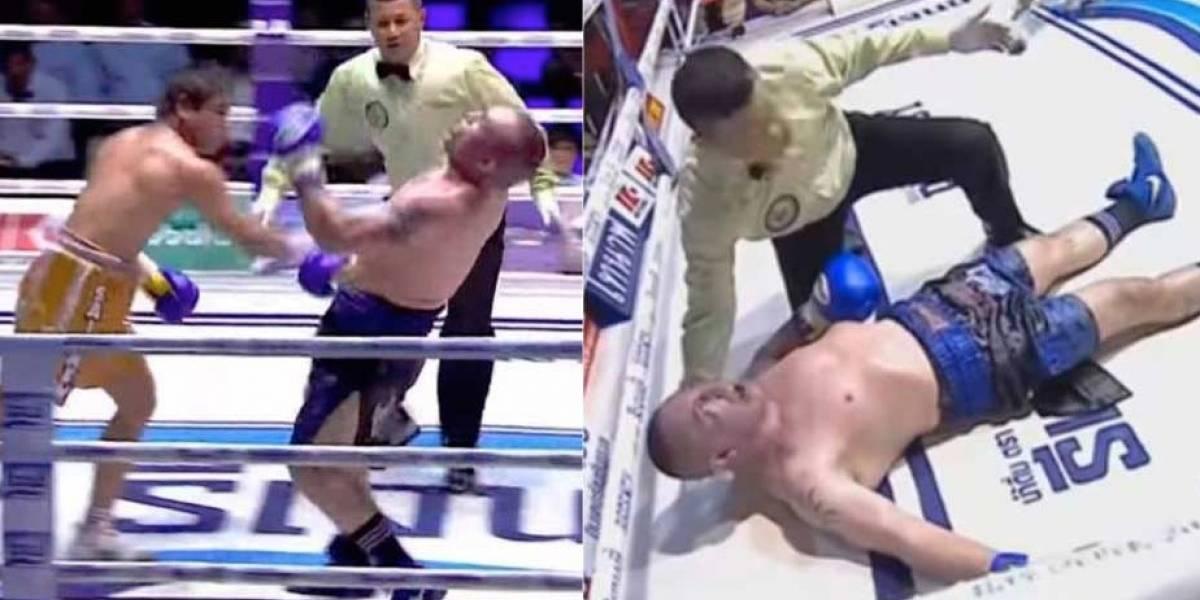 VIDEO. Luchador italiano muere tras fuerte nocaut