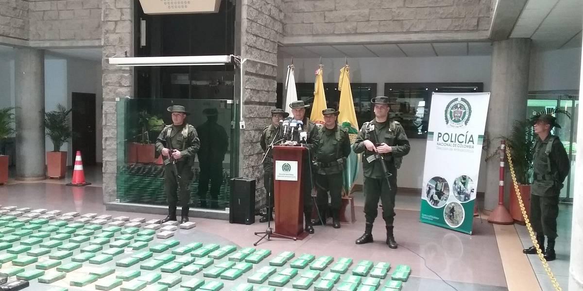Policía incautó más de media tonelada de cocaína en aeropuerto El Dorado