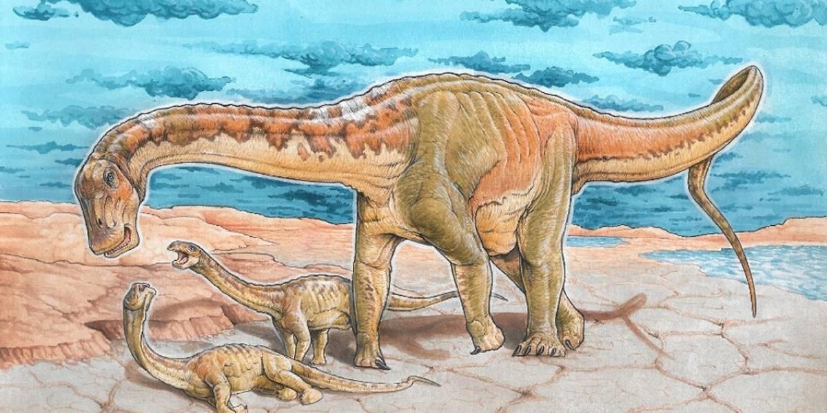 """Inédito: Descubren a """"Alfredito"""", una nueva especie de dinosaurio argentino"""