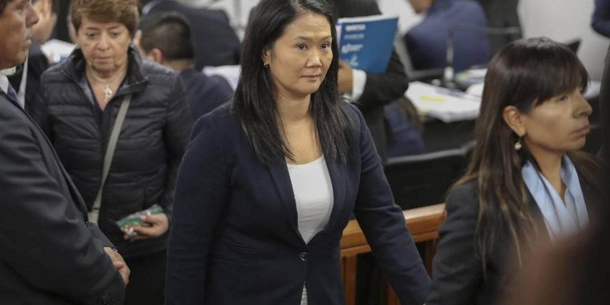 Juez peruano reinicia proceso contra asesores de Keiko Fujimori