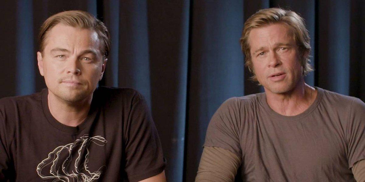 Brad Pitt y Leonardo DiCaprio piden salir a votar en las legislativas de EE.UU.