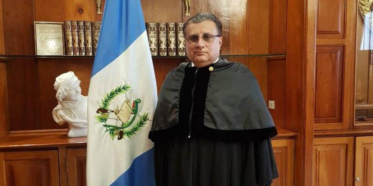 Manuel Duarte asume como magistrado de la CSJ