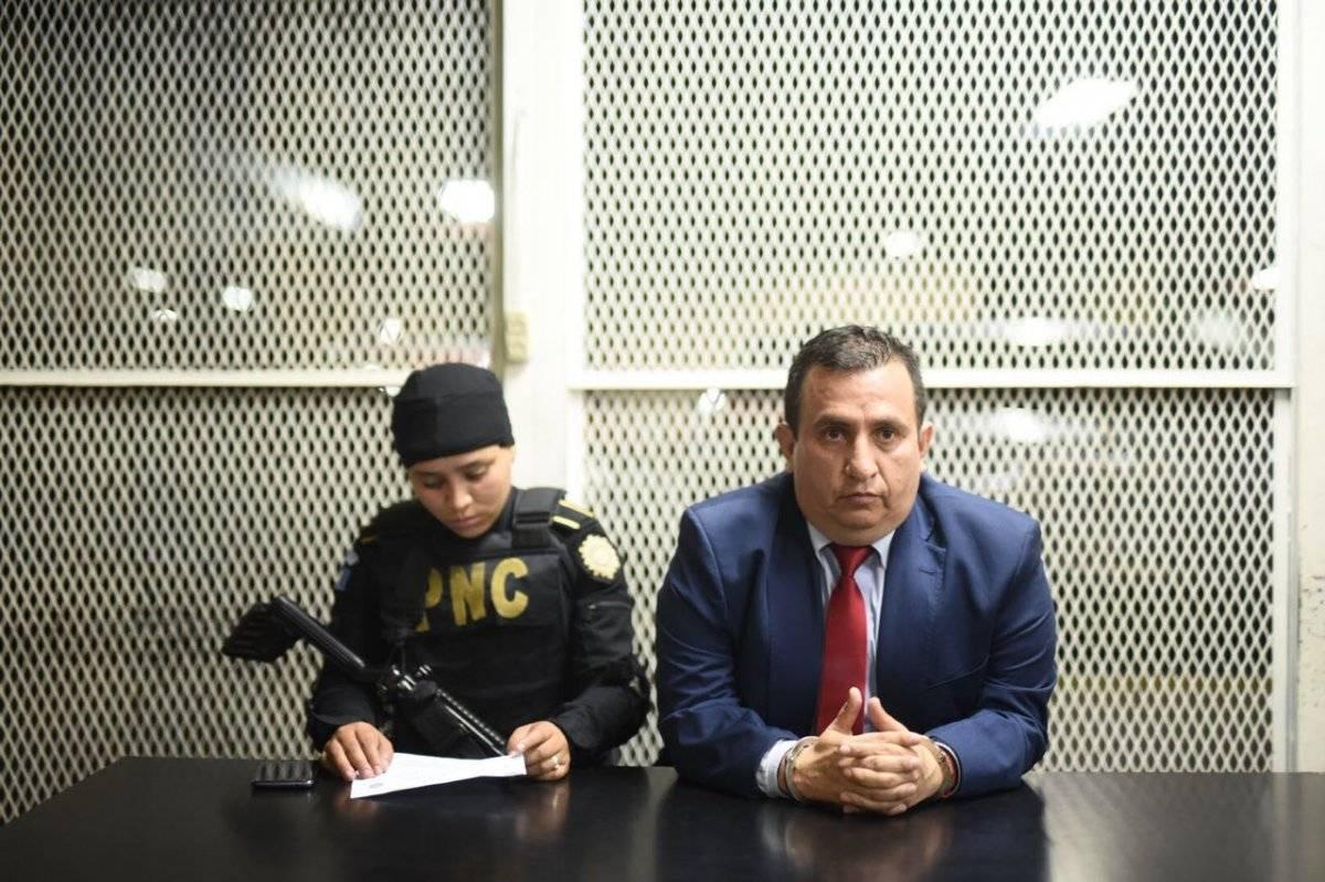 Abogado Mario Alfredo Menéndez Martínez, los Huistas