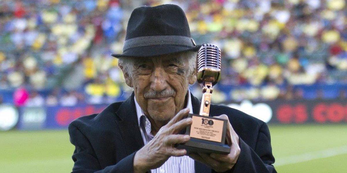 Futbol mexicano lamenta muerte de Don Melquiades