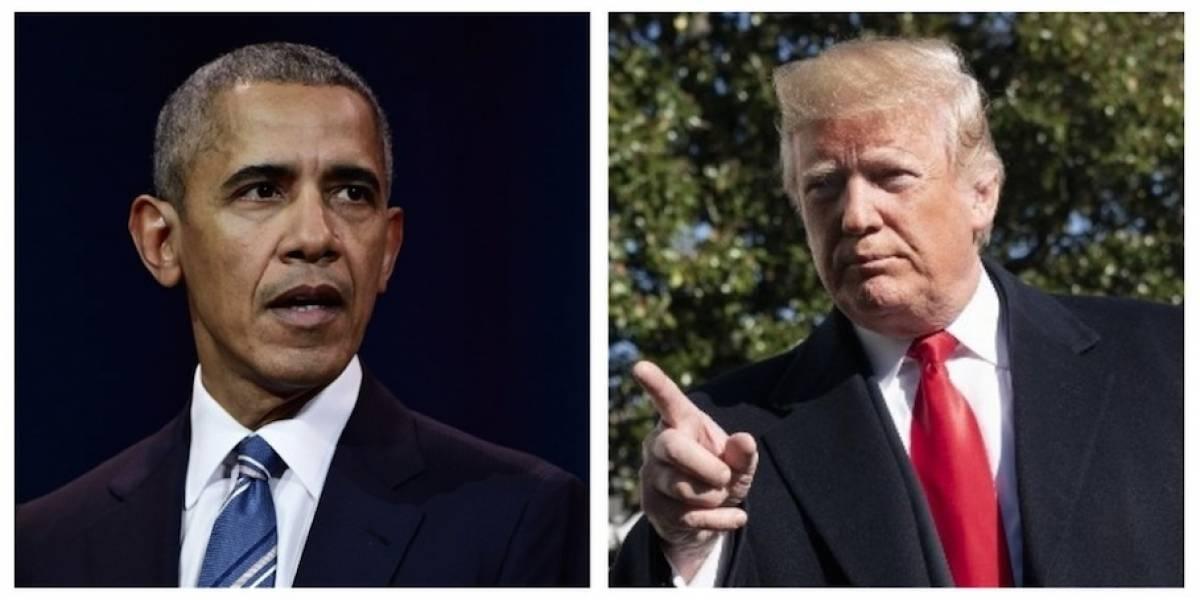 Obama y Trump chocan en exhortaciones finales a votantes