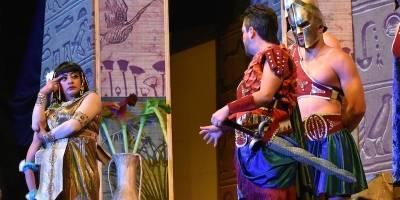 Cleopatra metió la pata