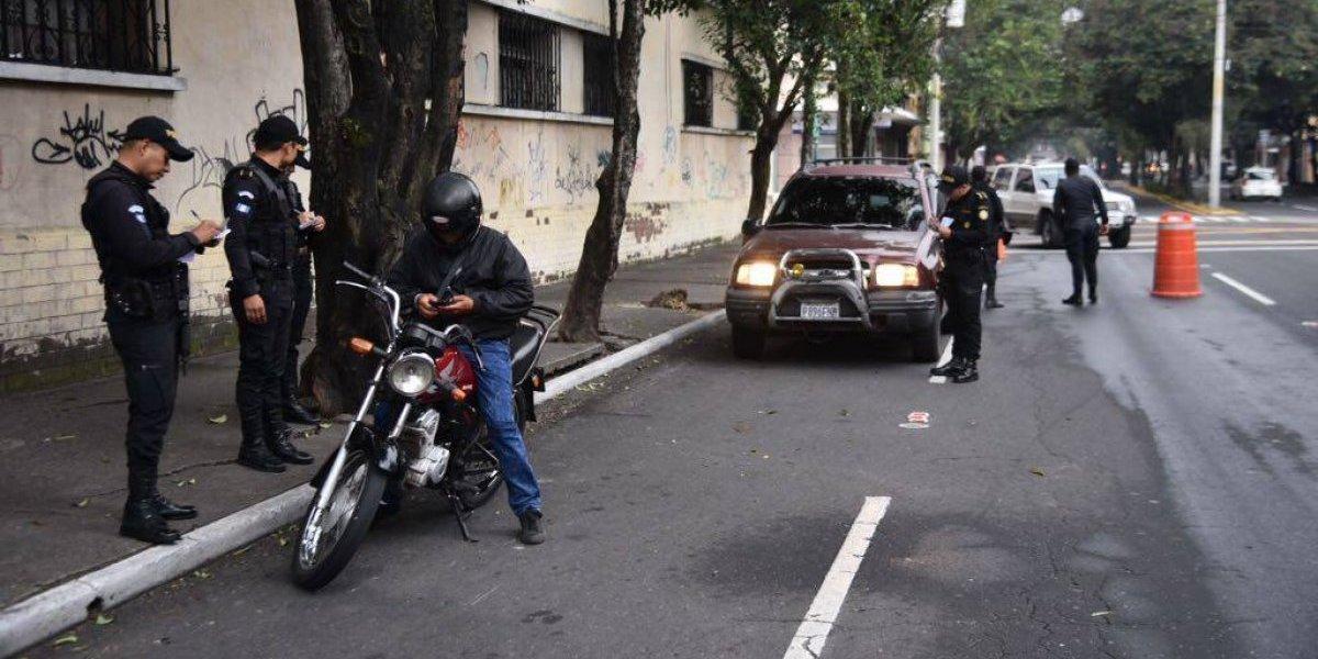 Policía captura a dos presuntos sicarios en un operativo Harley