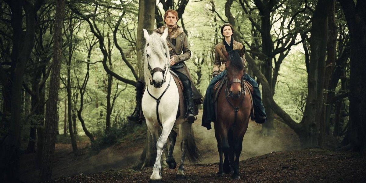 """La historia de amor de """"Outlander"""" llega a EEUU pre independencia"""