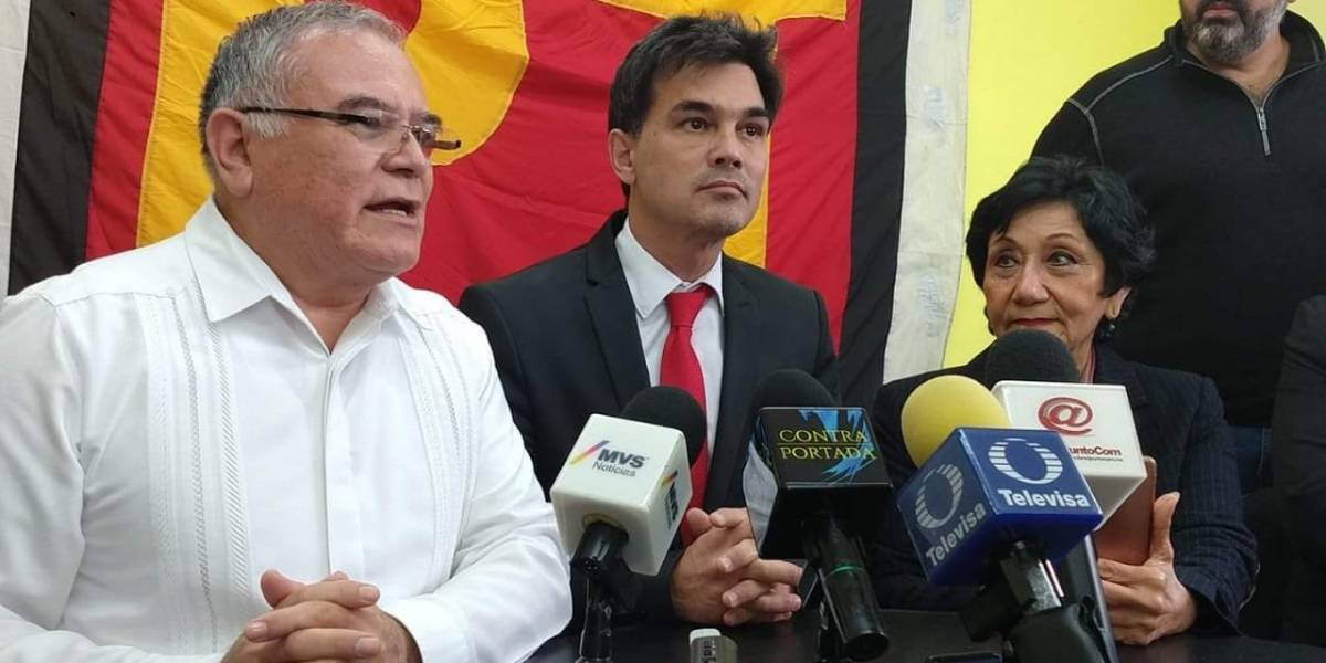 Pato Zambrano amarra apoyo de PT-Morena para ir por Monterrey