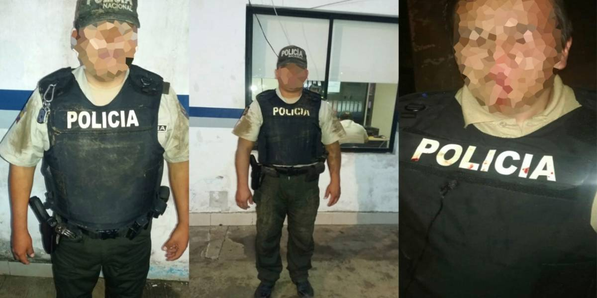 FOTOS: Treinta días de cárcel a dos ciudadanos por causar agresiones a policías