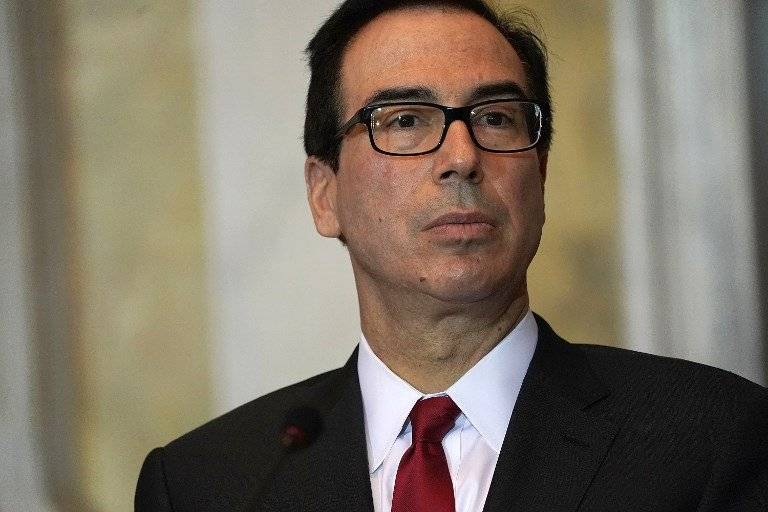 Steven Mnuchin, secretario del Tesoro de Estados Unidos
