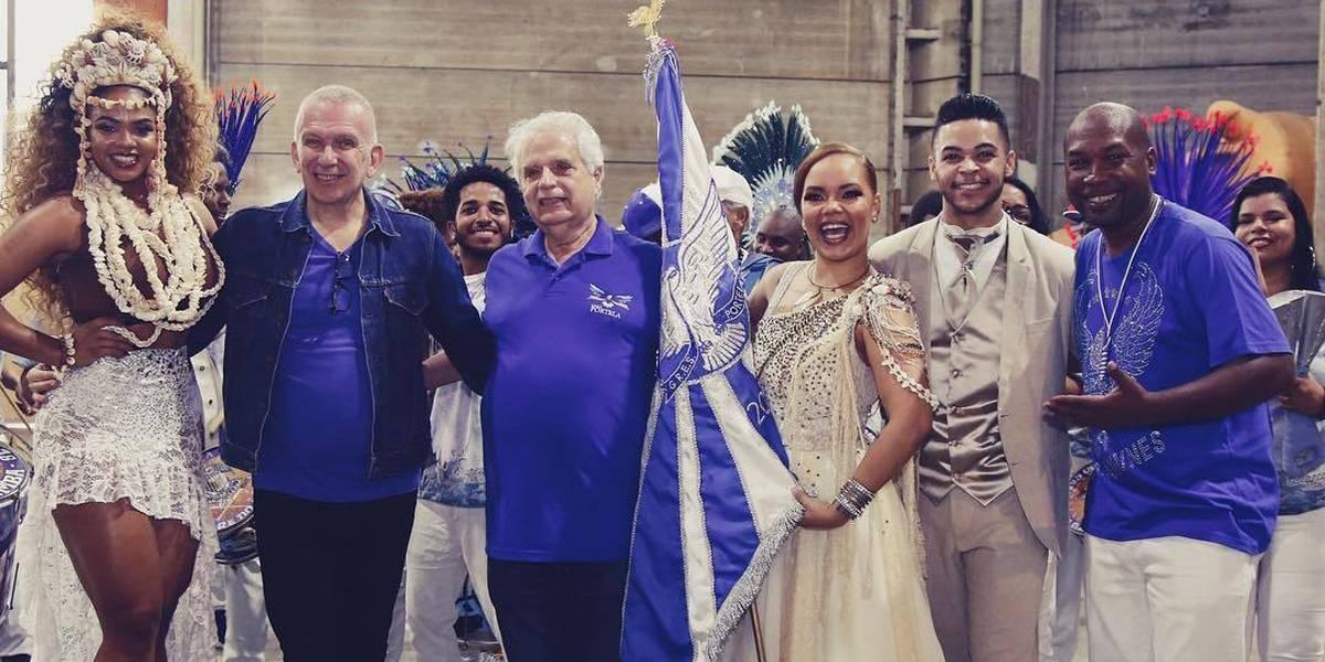 Jean Paul Gaultier desenha fantasias para o próximo carnaval do Rio