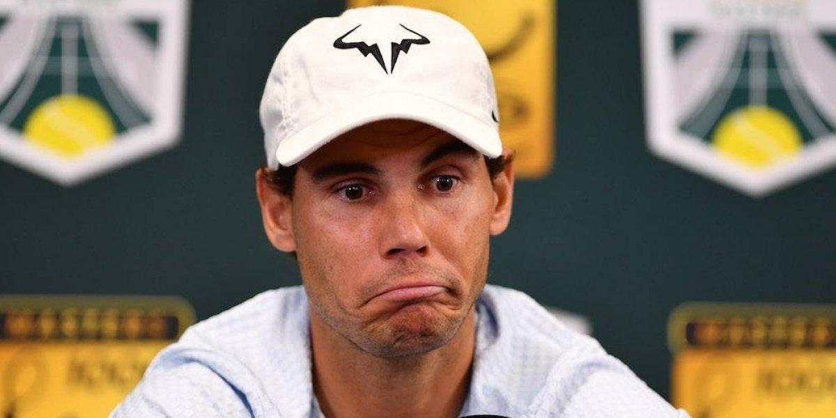 Rafael Nadal se someterá a una operación y dice adiós al 2018