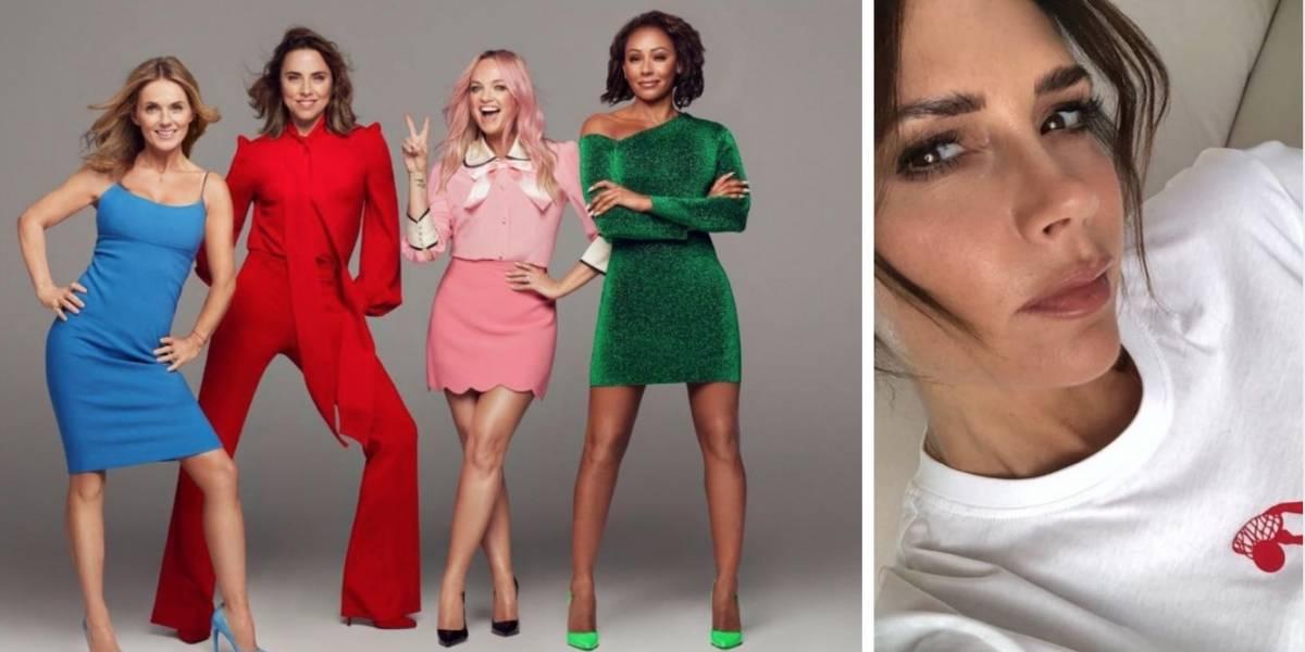 ¡No pierde protagonismo! Victoria Beckham envía mensaje a las Spice Girls