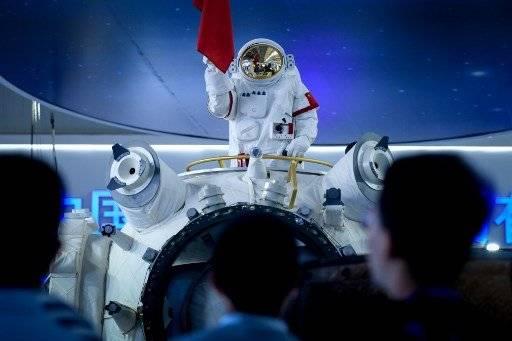 Estación espacial china se encuentra en proceso