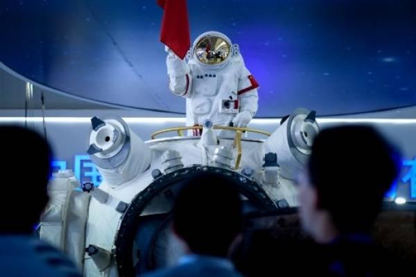 China presenta su propia estación espacial.