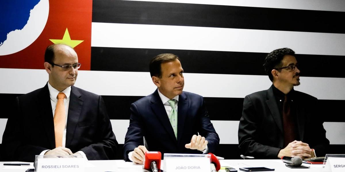 Doria anuncia ministros da Educação e da Cultura como secretários estaduais