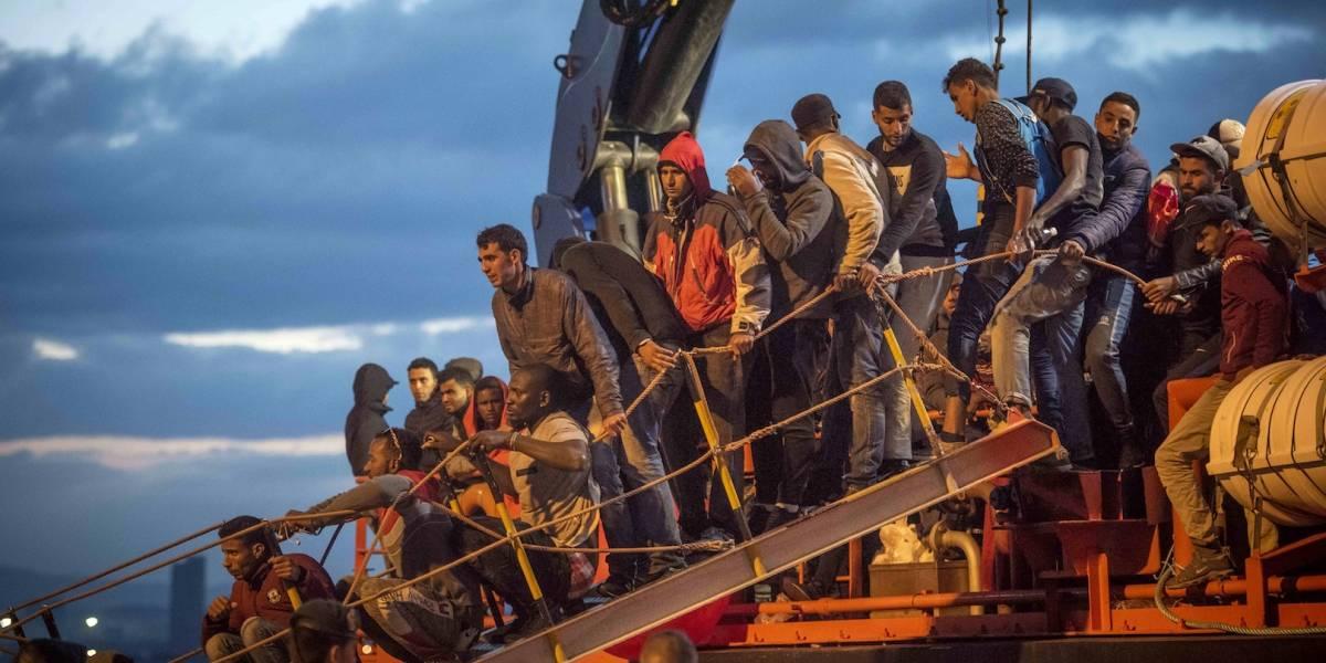 España encuentra 17 migrantes muertos y 100 sobrevivientes en Mediterráneo