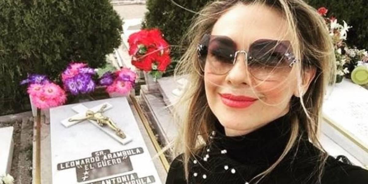 ¿Aracely Arámbula reveló sin querer el paradero de la madre de Luis Miguel?