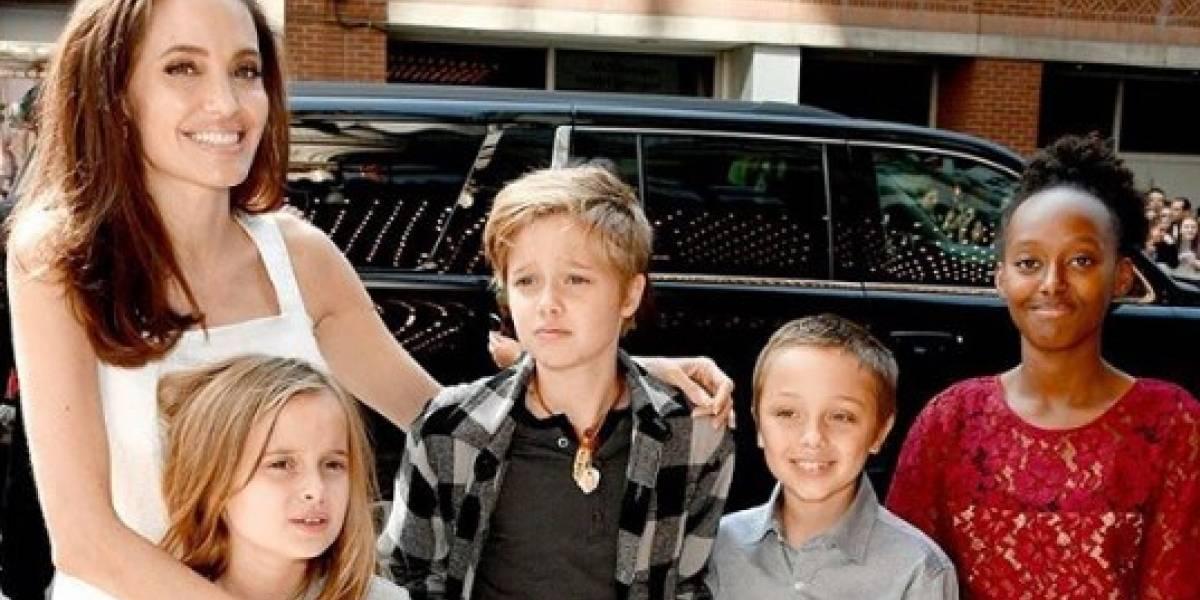 ¿Quién se quedará con los hijos? La dura separación de Brad Pitt y Angelina Jolie