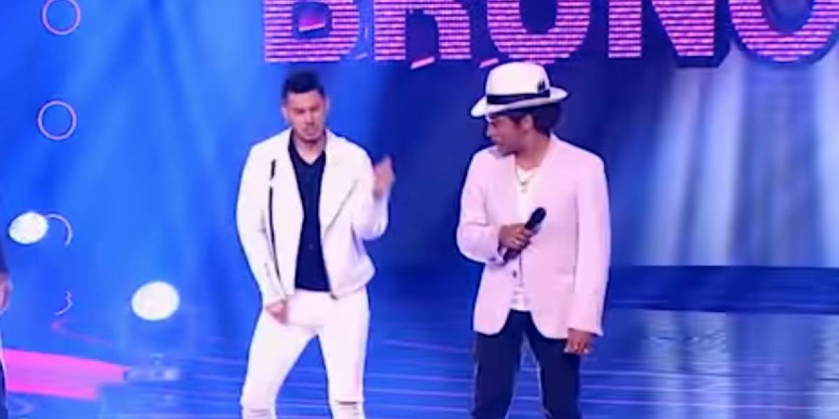 Pipe Bueno se le midió a imitar el sensual baile de Bruno Mars