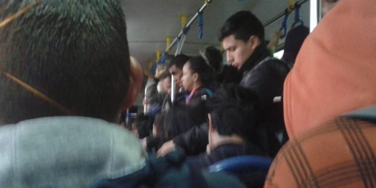 Esta es la sanción por exceso de pasajeros en buses de Quito