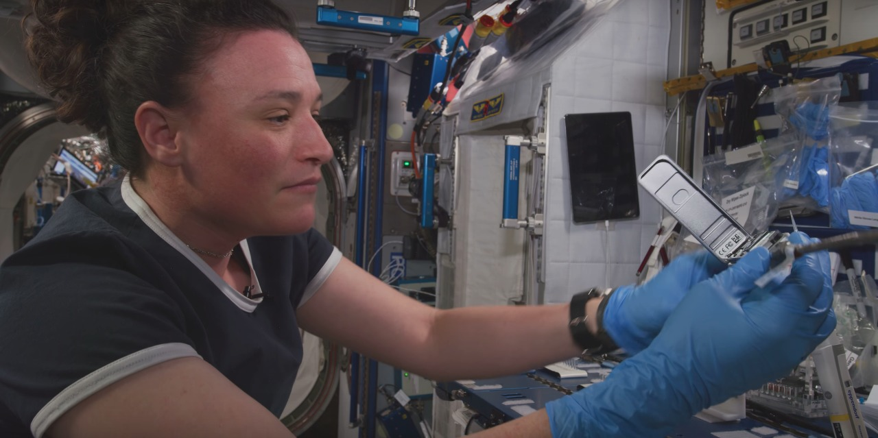 Observa el primer video 8k de la historia grabado desde el espacio