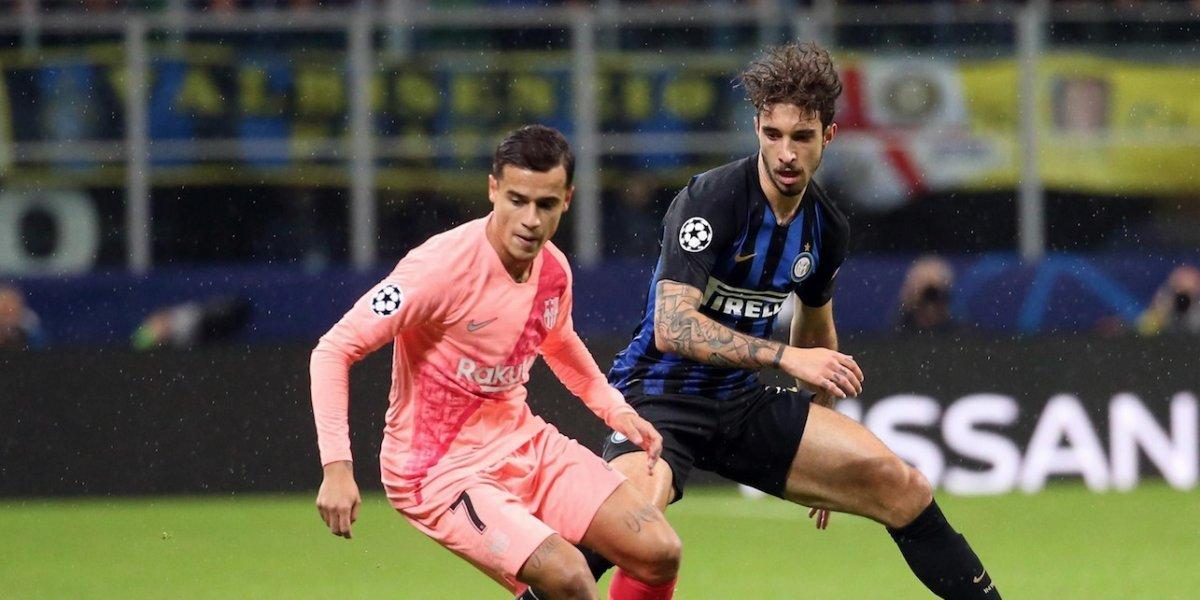 Inter y Barcelona quedaron a mano en el Giuseppe Meazza