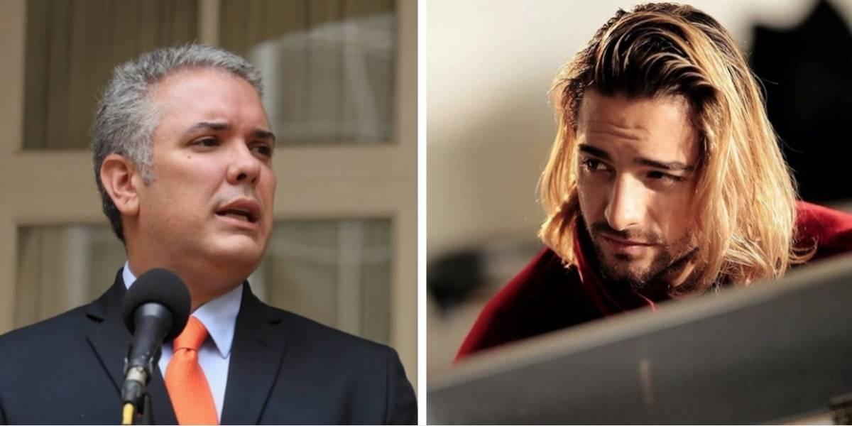 Críticas a Iván Duque por llevar a Maluma a la Casa de Nariño y no recibir a los estudiantes