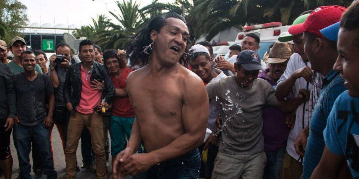 FOTOS: Así viven los migrantes en el albergue de la Magdalena Mixhuca