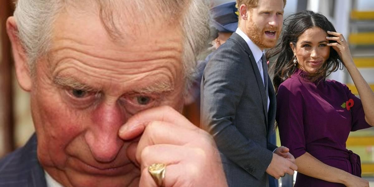 El Príncipe Carlos revela la gran preocupación que siente por el nieto que le darán Harry y Meghan