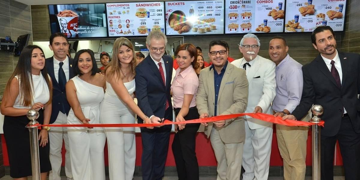 #TeVimosEn: KFC reafirma su presencia en República Dominicana