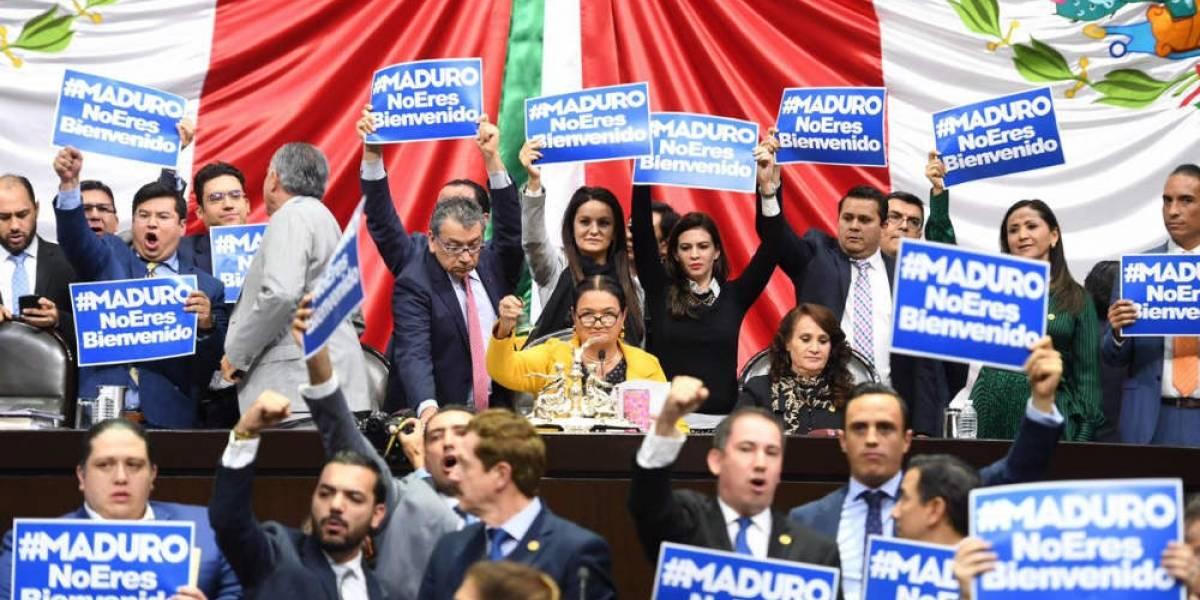 Resultado de imagen para Diputados de México: Maduro, no eres bienvenido
