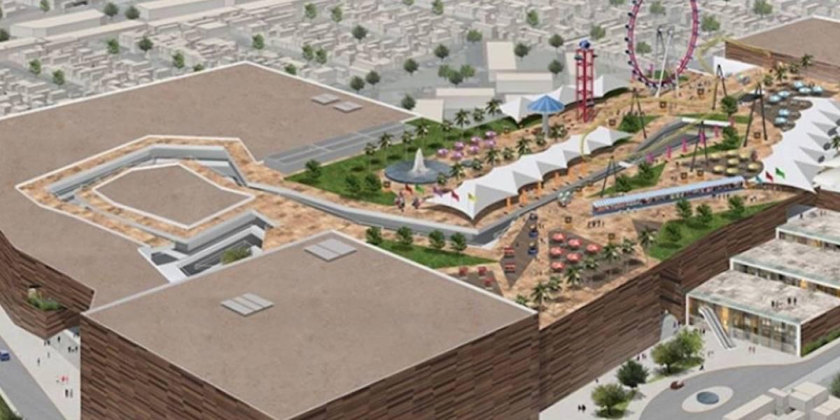 Inauguran primer parque de diversiones en azotea de la CDMX