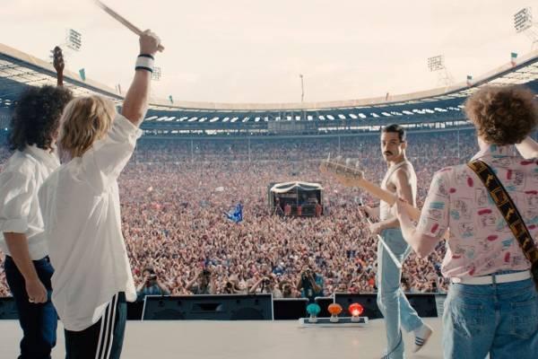 Escena del Live Aid en la película Bohemian Rhapsody