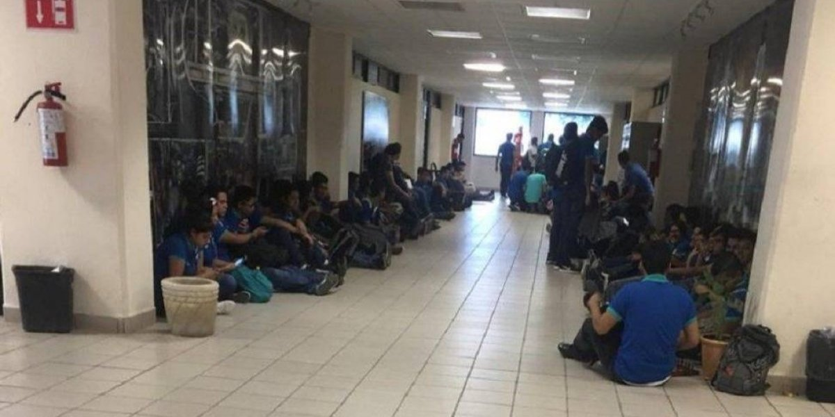 Persecución termina en estacionamiento de la Universidad Tecnológica de Tamaulipas