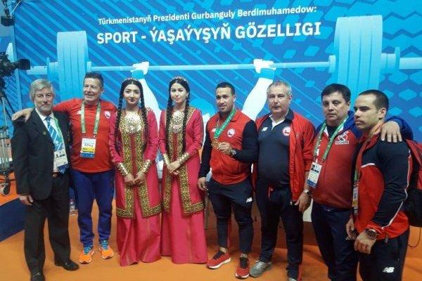 Arley sumó una nueva medalla / imagen: Panam Sport