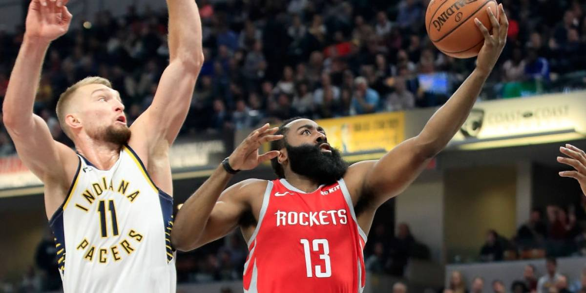 NBA: James Harden fue decisivo en la tercera victoria consecutiva de Houston Rockets