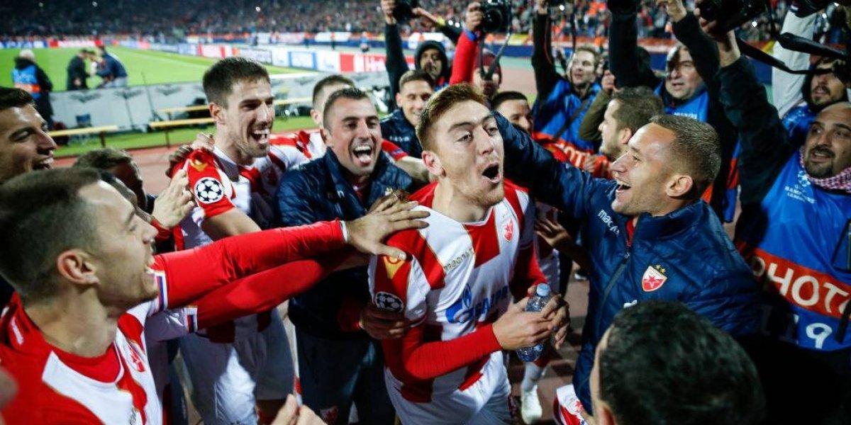 Estrella Roja sorprendió al mundo tras derrotar con claridad a Liverpool en la Champions