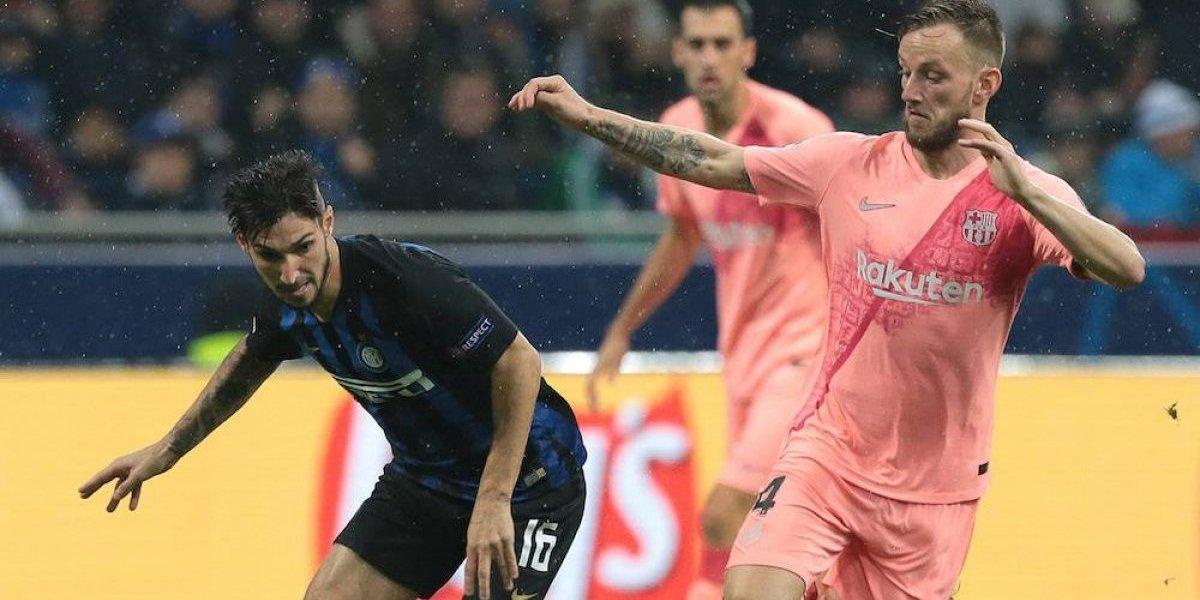 Barcelona se mete a octavos tras empate con el Inter