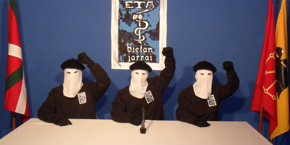 El grupo terrorista ETA reconoce atentados 44 años después