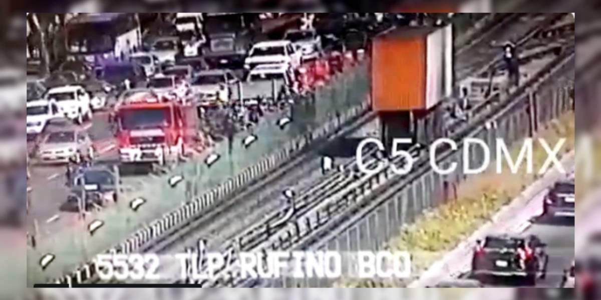 Corto circuito provoca incendio en Línea 2 del Metro