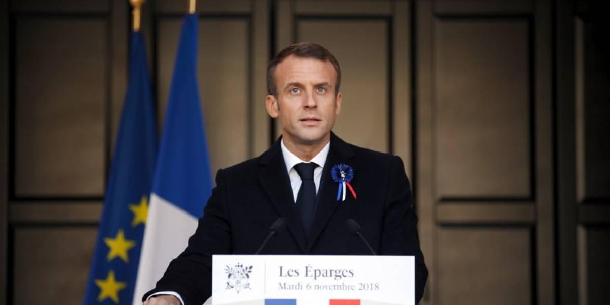 "Macron apuesta por un ""verdadero ejército europeo"""